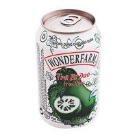 Trà bí đao ít đường Wonderfarm lon 310ml
