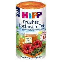 Trà cốm hòa tan HiPP hoa quả, hoa dâm bụt với Isomaltulose 3667 (200g)