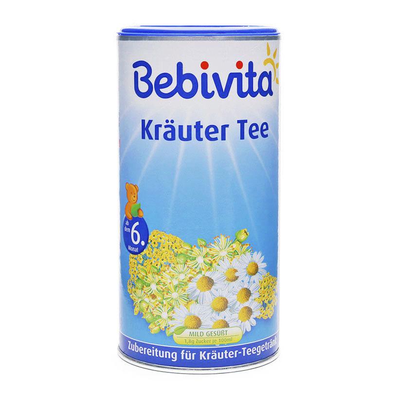Trà cốm hòa tan hoa cúc, thì là Bebivita – hộp 200g