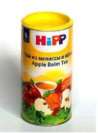 Trà dinh dưỡng Hipp táo tây 200g