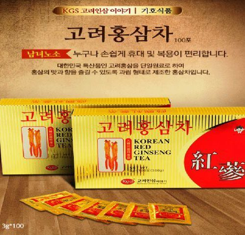 Trà hồng sâm KGS 300g (100 gói x 3g)