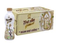 Trà sữa macchiato không độ 268ml - thùng 24 chai