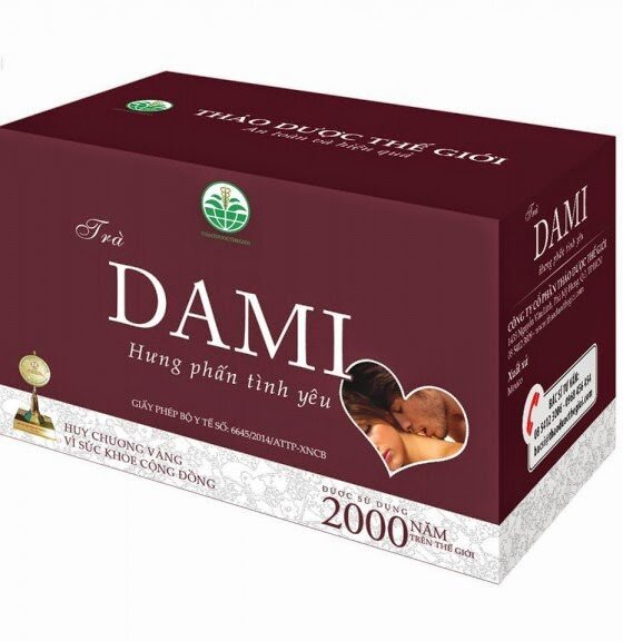 Trà thảo mộc DAMI - 75g