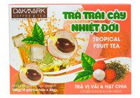 Trà trái cây nhiệt đới DakMark vị Vải hộp 200g