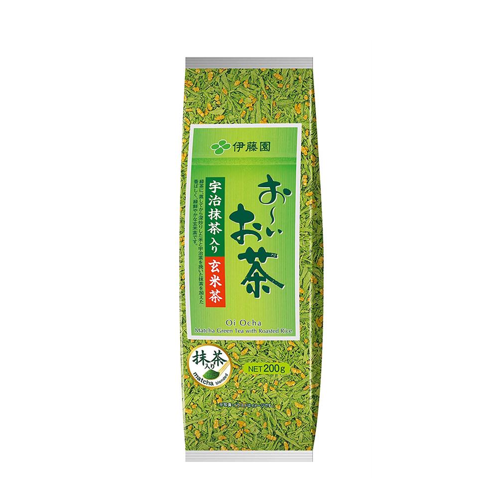 Trà xanh gạo lứt Itoen – gói 200g