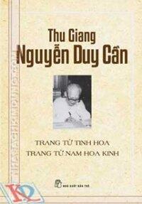 TRANG TỬ TINH HOA TRANG TỬ NAM HOA KINH