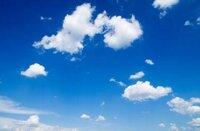 Tranh bầu trời trang trí bàn thờ VTC BG0011