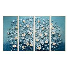 Tranh đính đá AB Ngàn hoa khoe sắc A6183 - 65x120