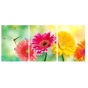 Tranh đồng hồ Hoa cúc 2 DHT0204