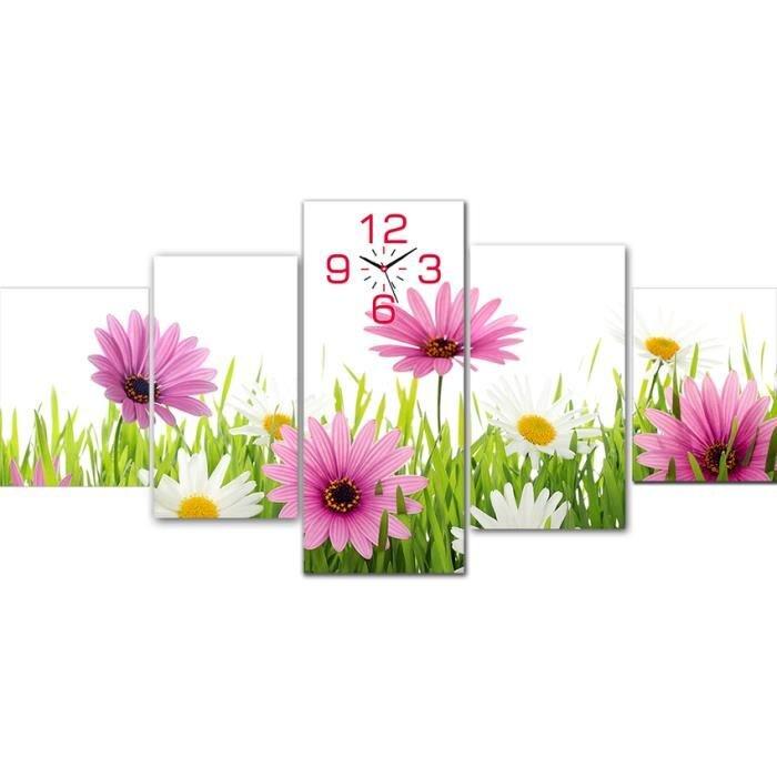 Tranh đồng hồ hoa cúc Perfect TDH29