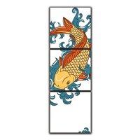 Tranh Đồng Hồ Suemall PT150201 – Cá Chép Hóa Rồng