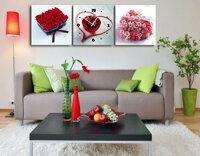 Tranh đồng hồ treo tường Suemall - Món quà tình yêu (TY1291)