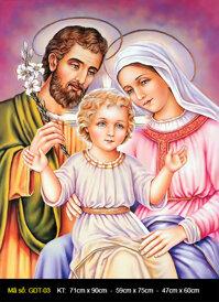 Tranh Gia đình thánh gia