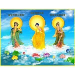 Tranh hình Phật Thế giới tranh đẹp HPV-46