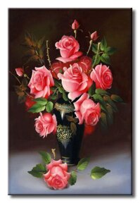 Tranh in canvas sơn dầu Static 242 - 40 x 60 cm