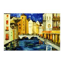 Tranh in canvas sơn dầu Thế Giới Tranh Đẹp Scenery 048 40 x 60 cm