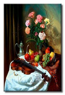 Tranh in canvas sơn dầu Static-149 - 40 x 60 cm