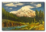 Tranh in canvas sơn dầu Scenery 153 - 40 x 60 cm