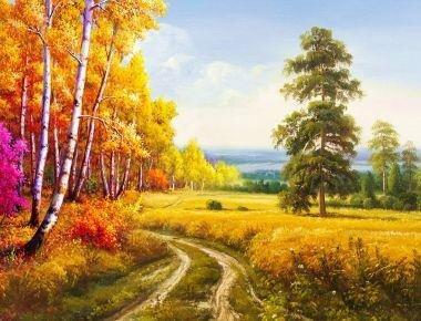 Tranh in canvas VTC Luna CV-0071 - cảnh đẹp thiên nhiên, 60 x 40cm