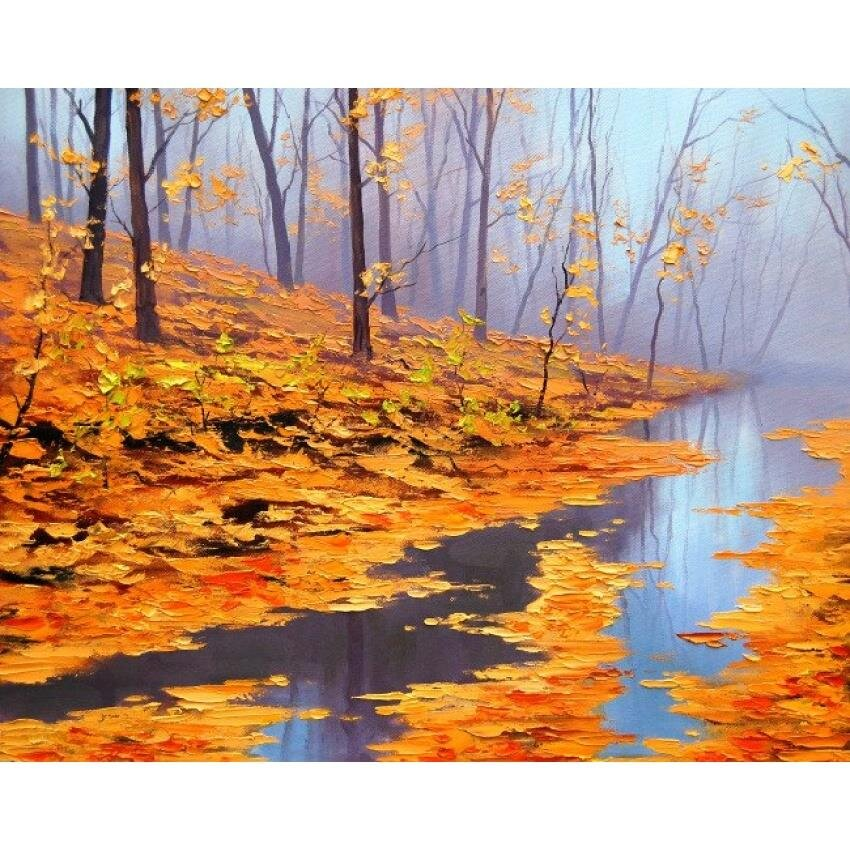 Tranh in canvas VTC Luna CV-0063 - cảnh đẹp thiên nhiên, 60 x 40