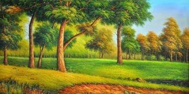Tranh in canvas VTC Luna CV-0016 - cảnh đẹp thiên nhiên, 100 x 50cm