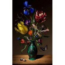 Tranh in canvas VTC LunaCV-0306 - lọ hoa đẹp