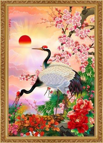 Tranh in canvas VTC LunaTM-0018 - 50 x 75 cm