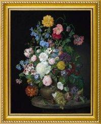 Tranh in canvas VTC LunaCV-0069 - lọ hoa đẹp, 50 x 60 cm
