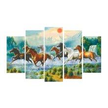 Tranh nghệ thuật ngựa phi nước đại Perfect TNT16
