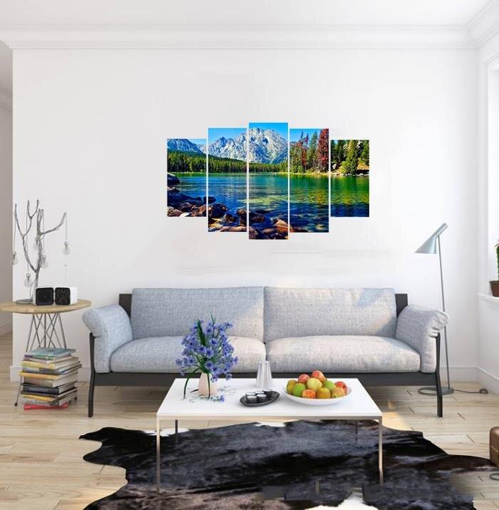 Tranh nghệ thuật thiên nhiên sông nước Perfect TNT27