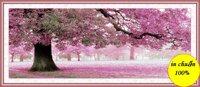 Tranh thêu chữ thập hoa DLH-YA253