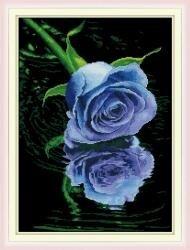 Tranh thêu chữ thập hoa DLH-YH332