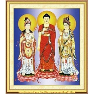 Tranh thêu chữ thập tôn giáo - DLH-YA916