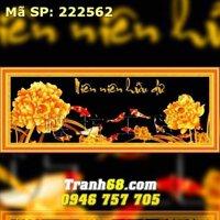 Tranh thêu niên niên hữu dư - DLH-222562