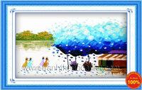 Tranh thêu phong cảnh - DLH-222154