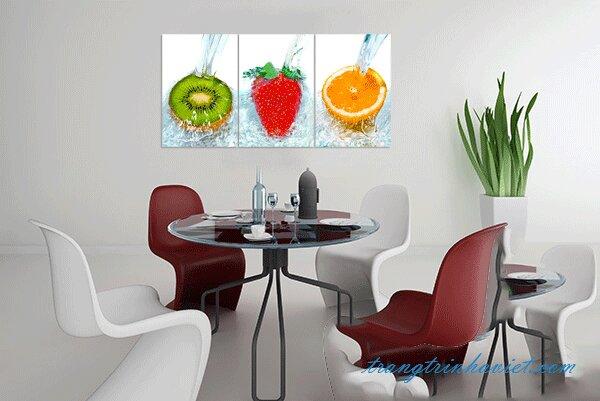 Tranh Trang Trí Phòng Ăn Trái Cây MS01