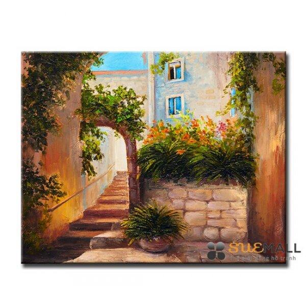 Tranh Treo Tường Canvas Suemall - Thềm Nhà - CV1408111
