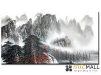 Tranh treo tường Suemall - Đỉnh núi vân mây - CV140809