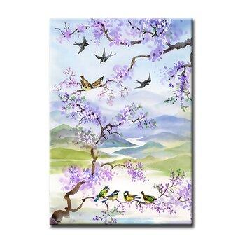 Tranh treo tường Suemall mùa xuân cánh én
