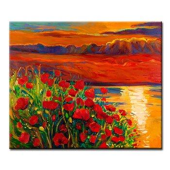 Tranh treo tường Suemall những cánh hoa ven biển-CV140824