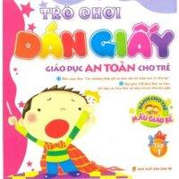 Trò chơi dán giấy - Dành cho trẻ mẫu giáo bé (T1)