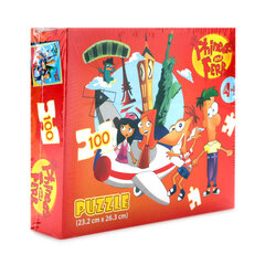 Trò chơi xếp hình Puzzle Phineas And Ferb Woody 100 mảnh