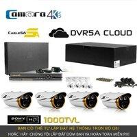 Trọn Bộ Smart DVR 5A 4 Kênh Full HD Q8I