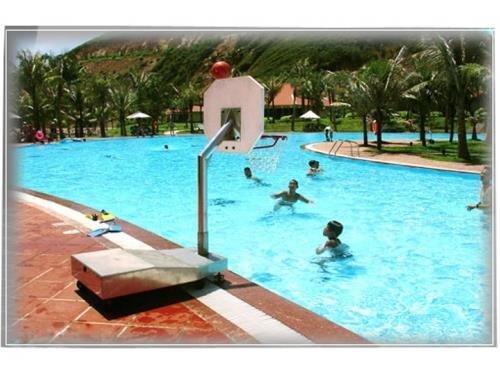 Trụ bóng rổ dưới nước Sodex Toseco BS8435