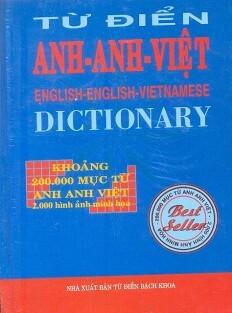 Từ Điển Anh – Anh – Việt 200.000 Từ