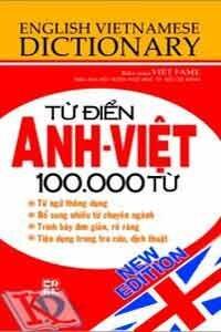 Từ Điển Anh Việt (100.000 Từ)