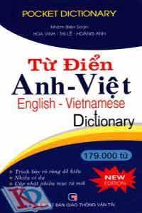 Từ điển Anh Việt (179.000 từ new edition 2010)