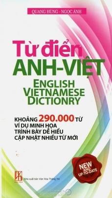 Từ Điển Anh-Việt 290.000 Từ
