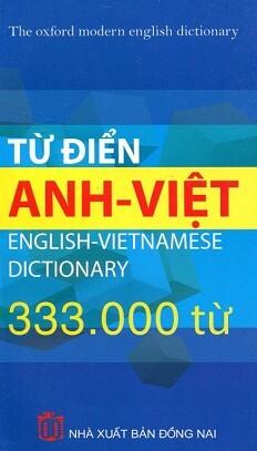 Từ Điển Anh – Việt (333.000 Từ)