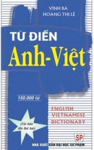 Từ điển Anh Việt( khoảng 150.000 từ)